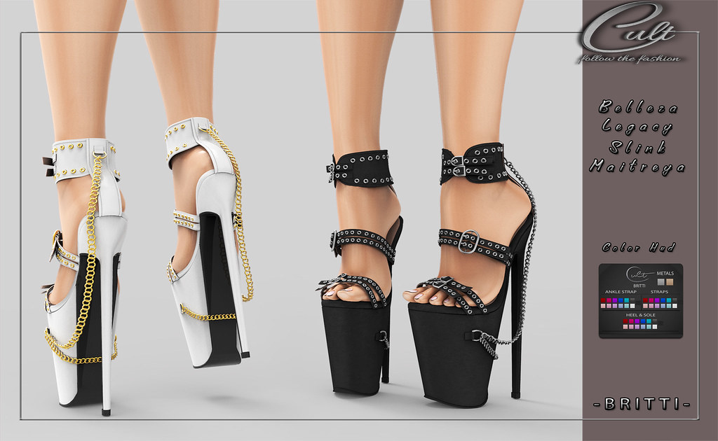: CULT : Britti Heels with HUD