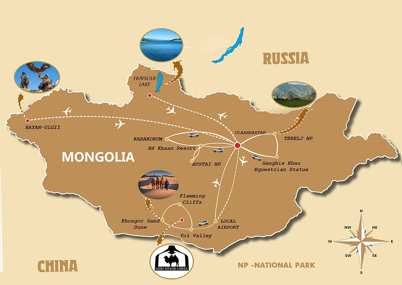 Best of Mongolia with Naadam Festival 18 days