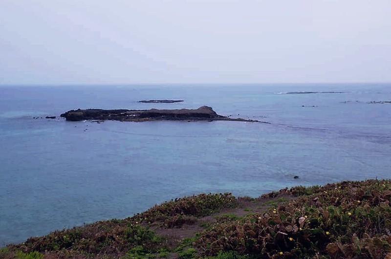 奎壁山東望赤嶼