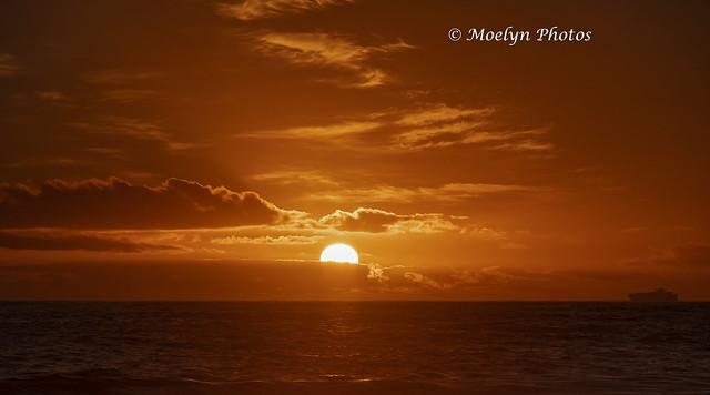 Atlantic Sunset at Camps Bay