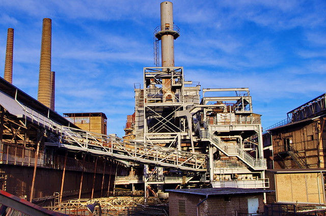 105 - usine sidérurgique de Völklingen - Völklinger Hütte Sarre, Saarland, février 2020