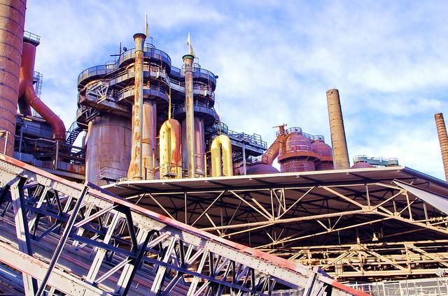 104 - usine sidérurgique de Völklingen - Völklinger Hütte Sarre, Saarland, février 2020