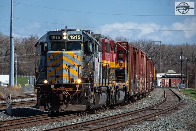 Westbound KCS Yard Job Train at Kansas City, MO