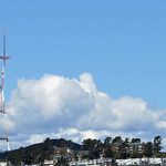 26. Märts 2020 - 10:54 - I made this photo of Sutro Tower near Twin Peaks in San Francisco as I was taking some shots a few blocks from our home. I had taken about 20 minutes from shelter-in-place we had already been going through for the last couple of weeks to mail a few letters and enjoy the beautiful clouds around the area before scurrying back home. I shot this using my Canon Powershot SX50.