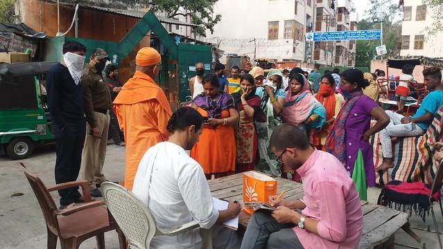 COVID-19 Relief Service by Delhi, March 2020