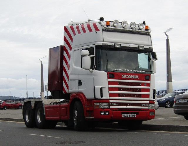 NJZ 6786 (N. Ireland) At Bray