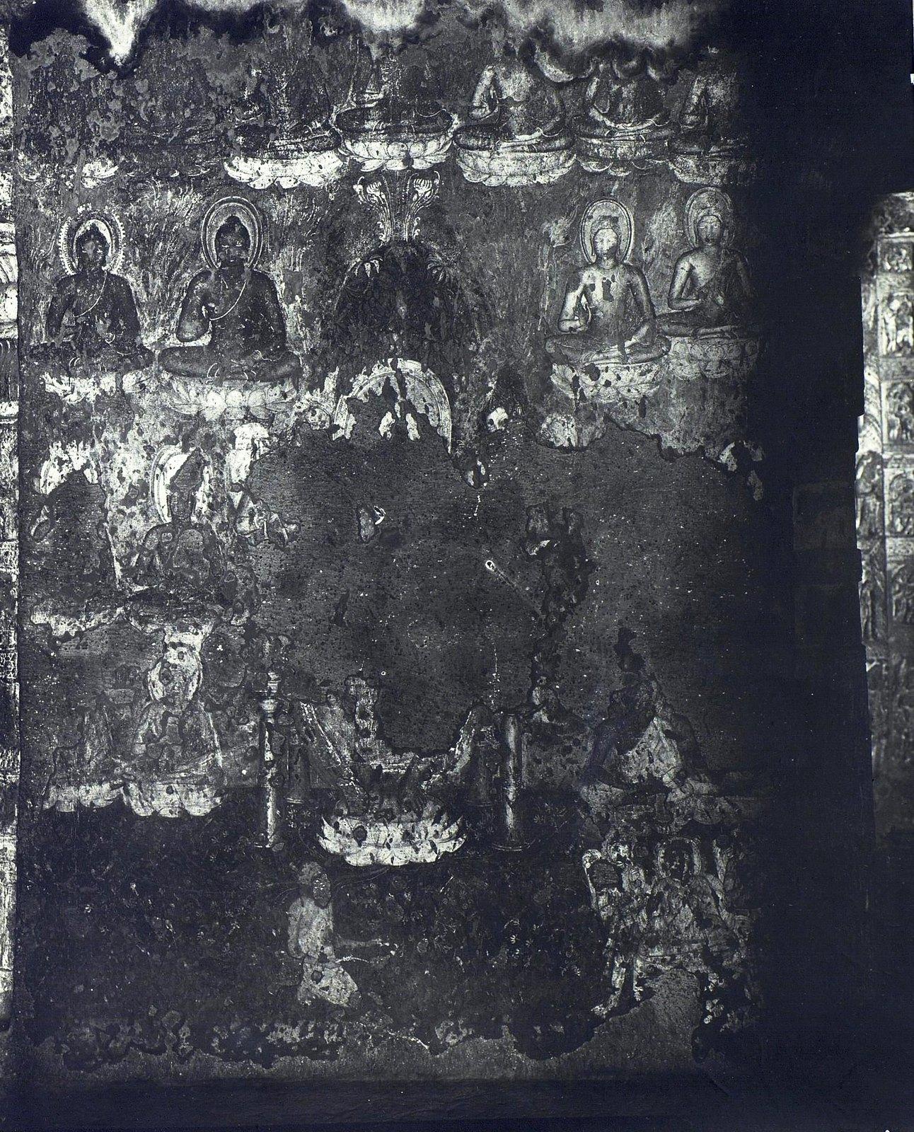 Аджанта (фрагмент фрески во второй пещере)