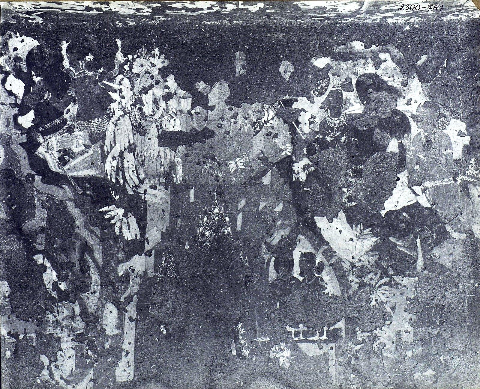 Аджанта (фрагмент фрески во второй пещере) (12)