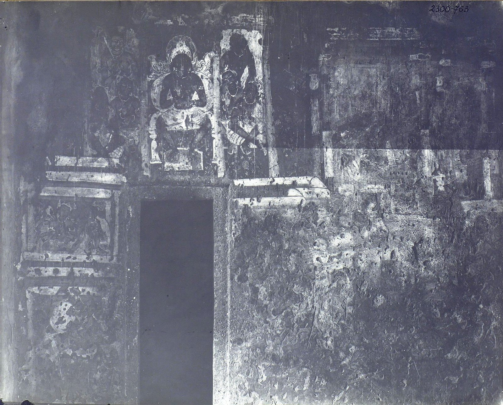 Аджанта (фрагмент фрески во второй пещере) (9)
