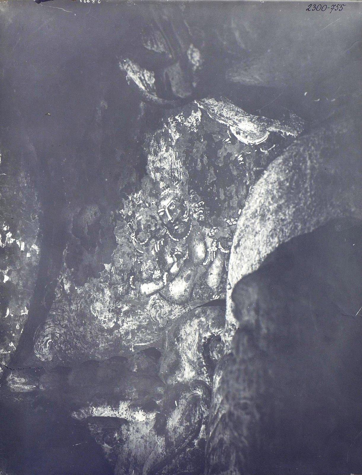 Аджанта (фрагмент фрески во второй пещере) (1)