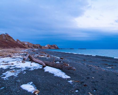 nikon d850 beach snow winter cold water ocean sand