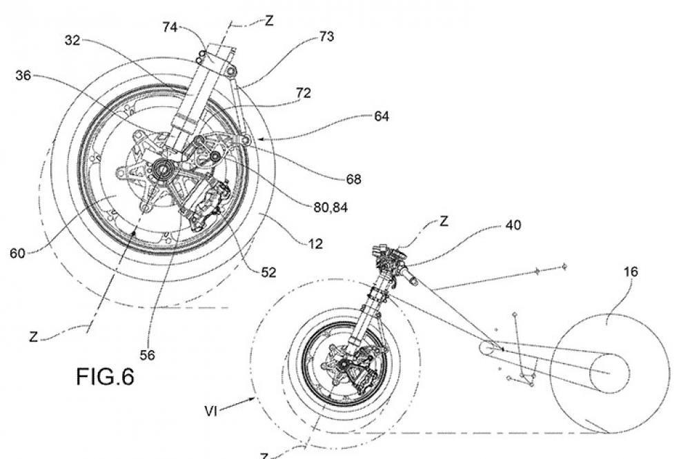 Aprilia Anti-Dive Brake System Pos. 2