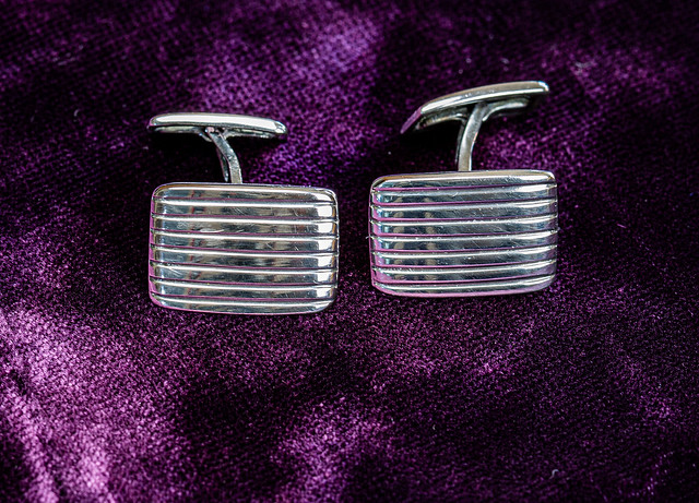 Cufflinks in sterling silver - 6M7A9197