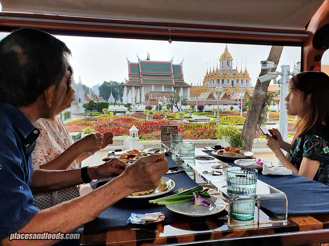 bangkok thai food bus tour scenery