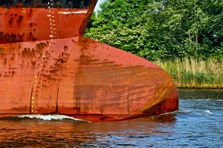 Bugwulst des Tankers