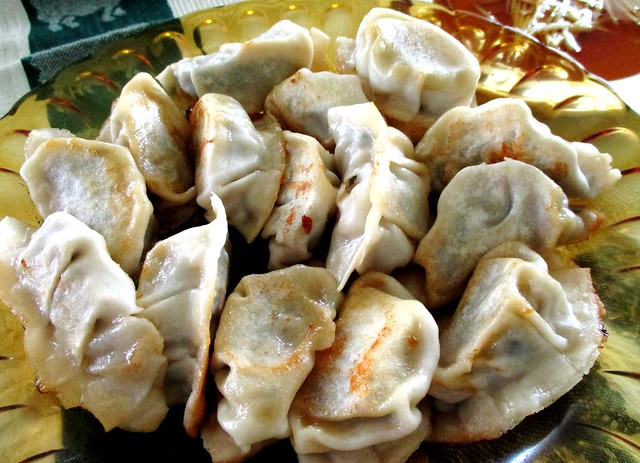 Dumplings, pan-fried