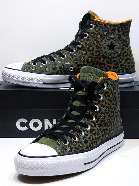 Pro Leather (Leopard) - Field Surplus Green & Black Hi 163250C