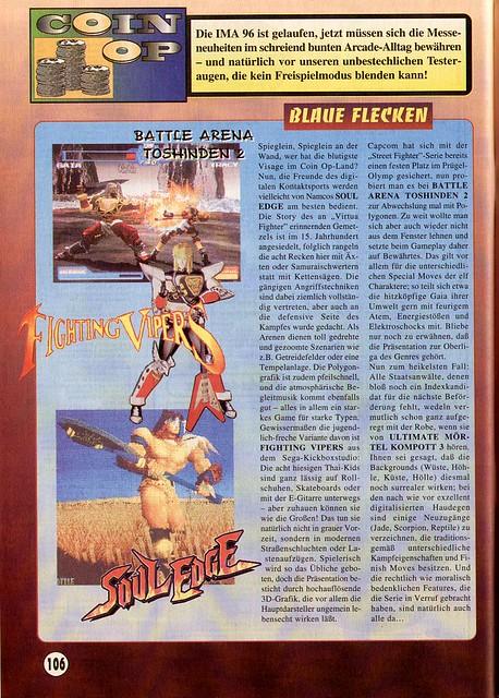 Battle Arena Toshinden 2 (Amiga Joker) 1996 german