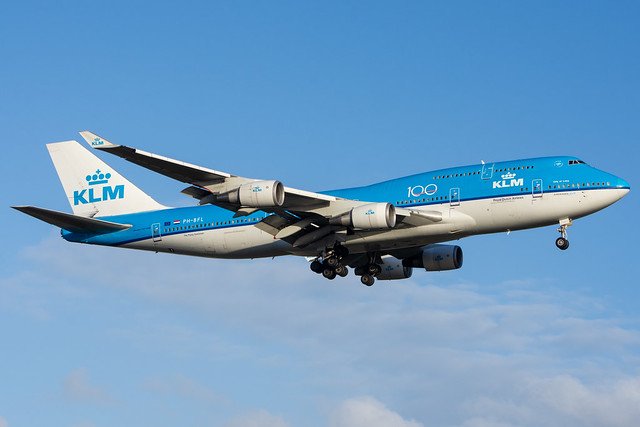 KLM 747-406 PH-BFL