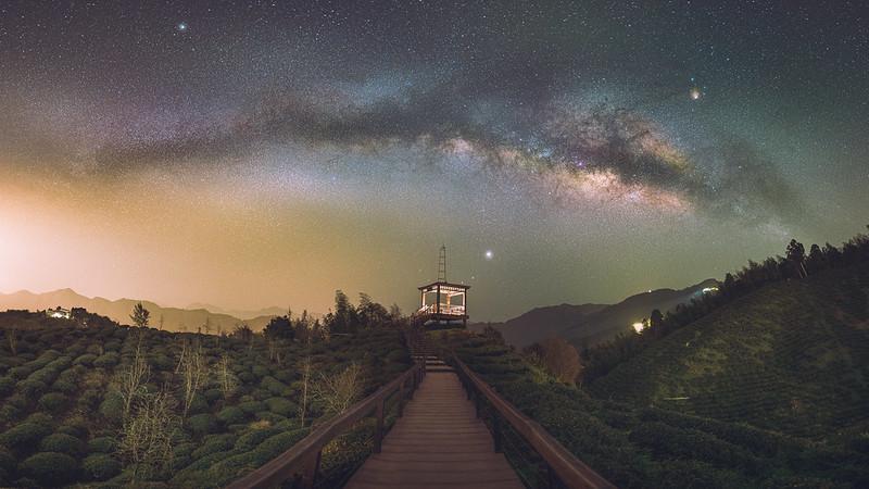 大崙山銀河|Milkyway
