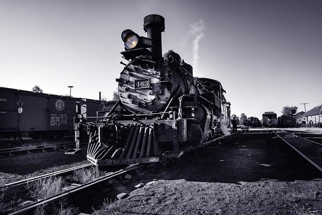 Locomotive 463 - Cumbres & Toltec Scenic Railroad Chama - New Mexico - USA