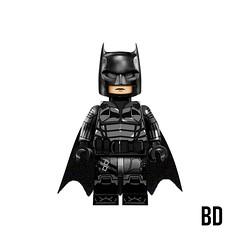 •Custom Lego Robert Pattinson Batman Minifigure Concept•