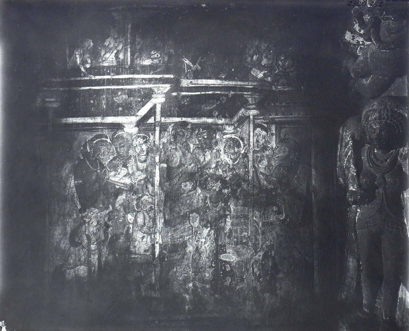 Аджанта (фрагмент фрески во второй пещере) (14)