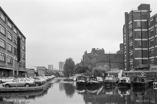 Wenlock Basin, Regent's Canal, Hackney 86-7g-64_2400