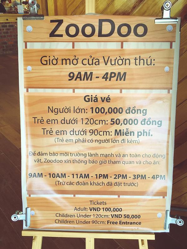 Phượt Hot - Khám phá vườn thú Zoodoo Đà Lạt cực kỳ đáng yêu (15)