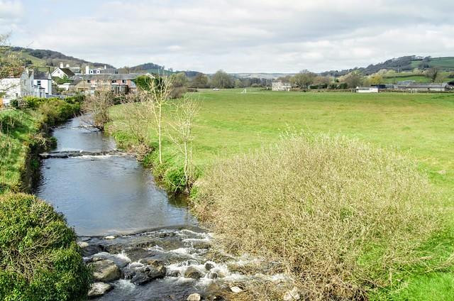 River Coly Colyton East Devon UK