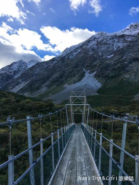 胡克山谷步道第三座吊橋