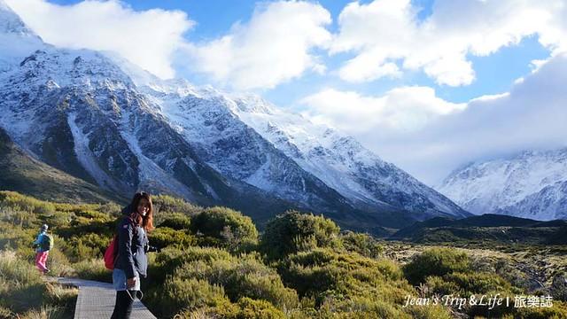 紐西蘭庫克山胡克山谷步道 New Zealand Hooker Valley Track