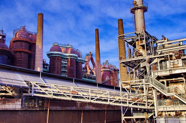 106 - usine sidérurgique de Völklingen - Völklinger Hütte Sarre, Saarland, février 2020