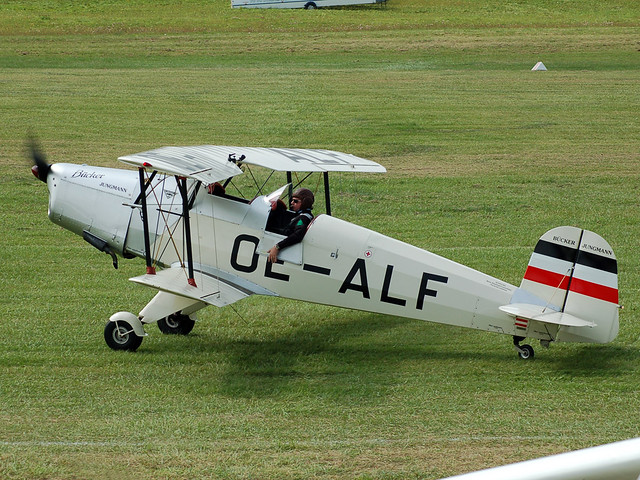 OE-ALF HAS/SSH T.131PA Jungman (Bucker Bu.131)