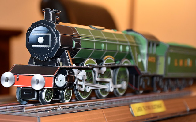 Card Version of Flying Scotsman