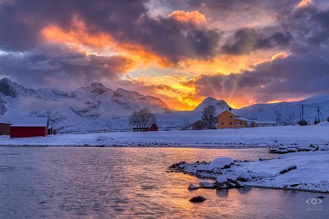 Sunset: A week on the island of Tromsö / Tromsø (Norway)      (EOR06476-klein.jpg)