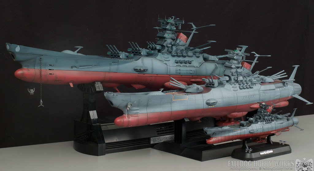 Space Battleship Yamato Builds 2