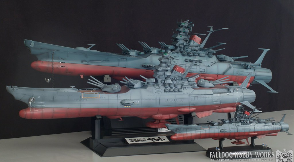 Space Battleship Yamato Builds 4
