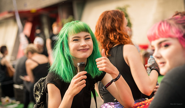 The Girl with the Green Hair.