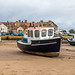 Alnmouth harbour