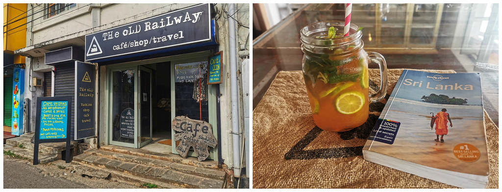 The Old Railway cafe and shop, Galle