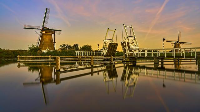windmills and bridge