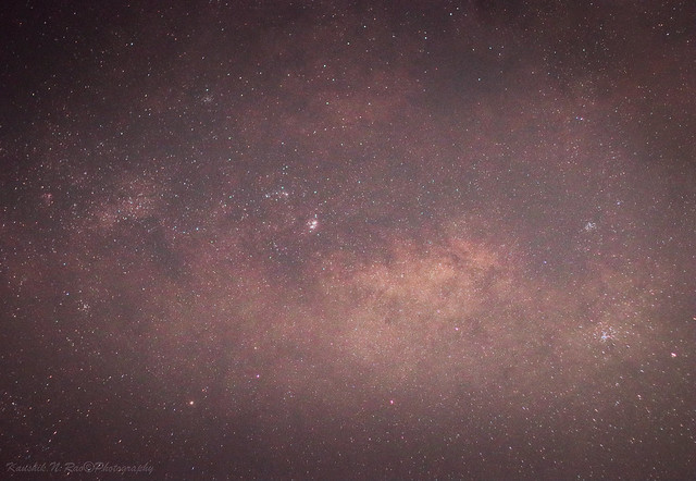 There it is ! The Galactic Centre of the Milky way 😍  #Dream_shot