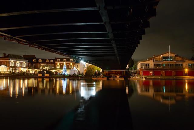 Quiet night under Marlow Bridge