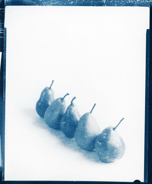 Blue pears