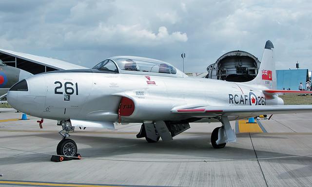 Canadair CT-133 Silver Star G-TBRD