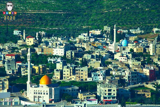 للبيت رب يحميه .. صورة قرية دير شرف ستبقى قرية دير شرف و فلسطين الخضراء شامخة رغم هذا الوباء .