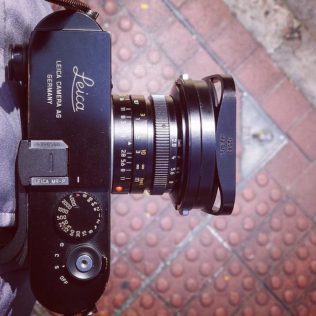 Leica 21mm f2.8 Pre-Asph 油尖旺的日與夜