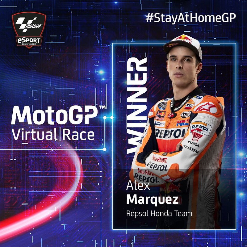 MotoGP Virtual Race Mugello Winner
