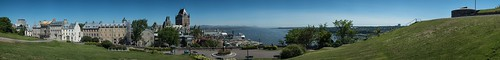 quebec qc panorama panoramique ete saintlaurent stlawrence port harbour historic historique